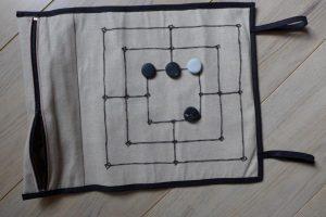 Mühle-Spiel